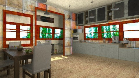 inv 1 - Classic - Kitchen  - by bluevioletspoprock