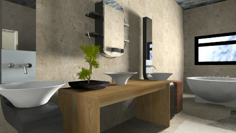 Bathroom - Modern - Bathroom  - by MonikaART