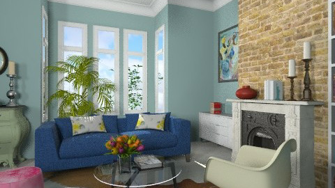 Rowhouse Living Room - Eclectic - Living room  - by 3rdfloor