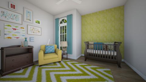 Eclectic Nursery Design - Kids room  - by jnd444