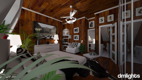 Putney template - Eclectic - Bedroom  - by DMLights-user-981898