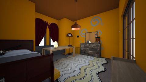 peachy  - Vintage - Bedroom  - by izick13