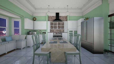 like2 - Kitchen - by marmary83
