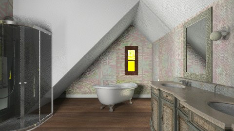 My attic master bath - Bathroom - by alleypea