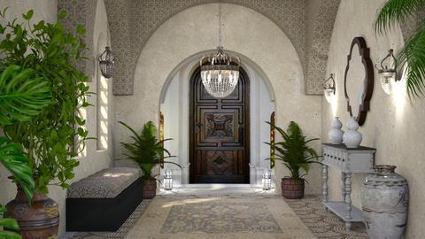 Moroccan Entrance - by ZsuzsannaCs