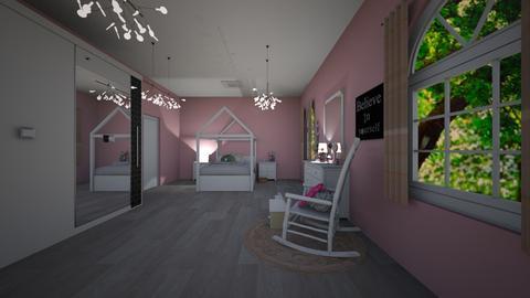 a - Feminine - Bedroom - by waad3333