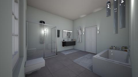 Bathroom - Modern - Bathroom - by Isolda2207