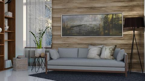 M_ Beautiful winter - Modern - Living room  - by milyca8