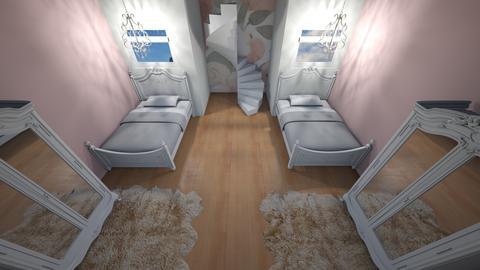girls prinses bedroom - Feminine - Kids room  - by katemarsh
