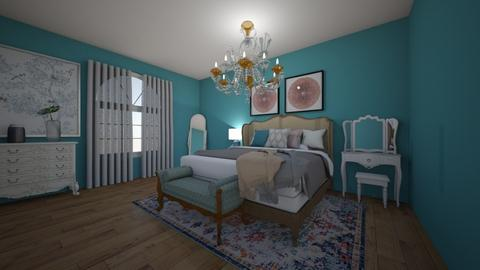 French Rococo - Bedroom - by elizabethwatt16