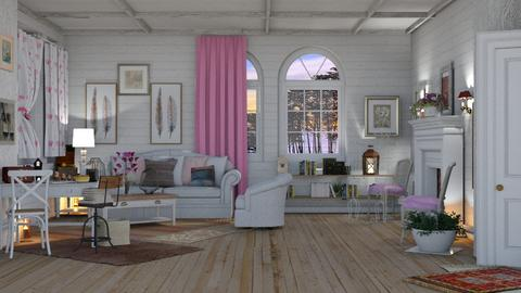 shaby  idea - Vintage - Living room  - by pachecosilv