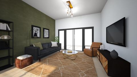 industrial styles living - Living room  - by Amy Robberts