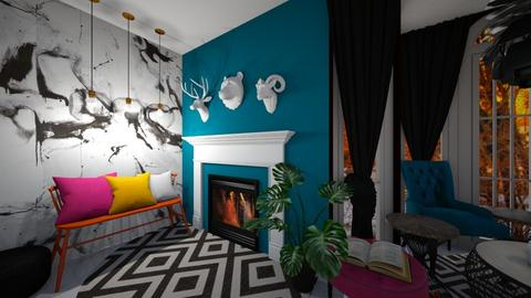 Comfy Colour Living 2 - Eclectic - Living room  - by MackenziePaige