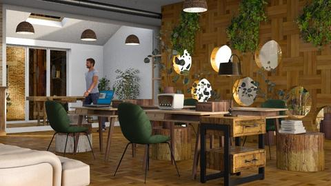 Bee_Office - Office  - by ZuzanaDesign