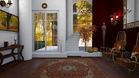 Autumn Hallway - by Chel_0270