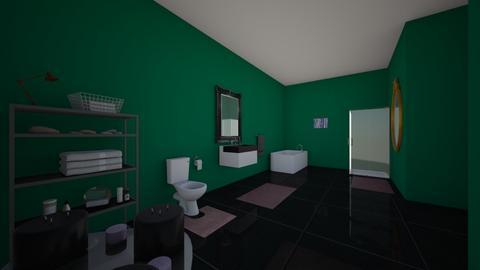 Master Bathroom _ Chloe T - Bathroom  - by Chloe Toso