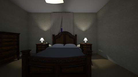 Bedroom Night - Bedroom  - by mspence03