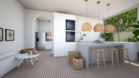 ORGANIC HOUSE P8 KITCHEN - Kitchen  - by aestheticXdesigns
