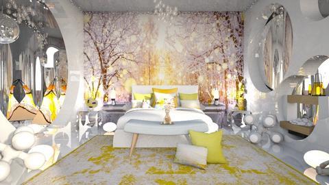 Eye Confusion  - Modern - Bedroom  - by Amyz625
