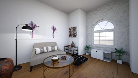 MINIMALISTA - Minimal - Living room  - by ELLIAMR5