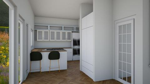 family room comp - Kitchen  - by oxlingham