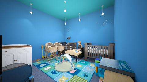 the baby boy rooms - Classic - Kids room - by alivialove