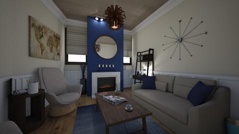 nauical - Living room - by Mackenzie Kem