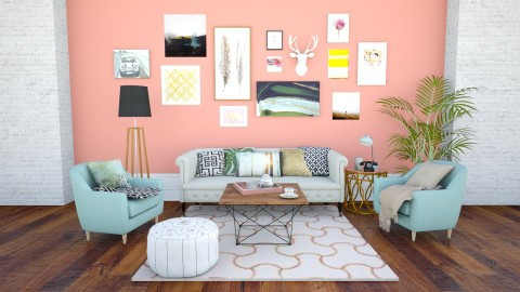 Living room  - Modern - Living room - by littlecupcakex3