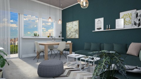 For Agata - Eclectic - Dining room  - by evahassing