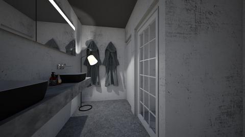 Concrete Bathroom - Bathroom  - by Tanem Kutlu