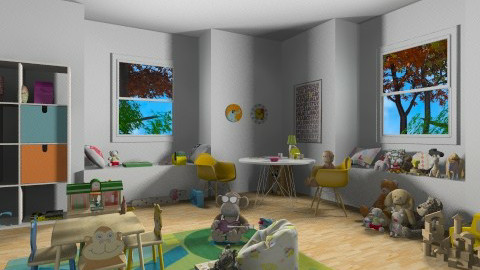 play - Vintage - Kids room - by Zozan Deryalar
