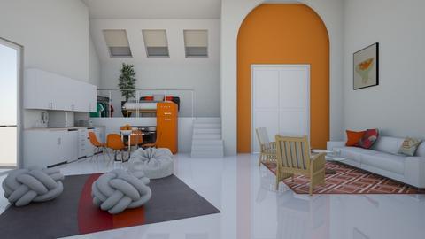 Orangey Feel Apartment - by ItsArii