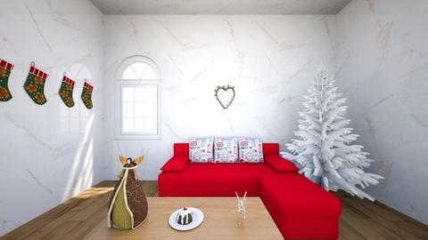 winter - Living room  - by kwiatowa pandzia