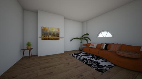 fox styled living room - Living room  - by 1eatramen