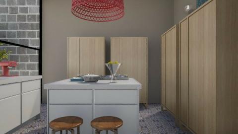 Leon Freestanding Kitchen - Modern - Kitchen  - by 3rdfloor