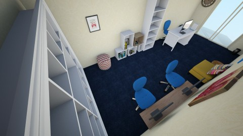 Perpustakaan Kaltara Revi - Minimal - Office - by nekochan