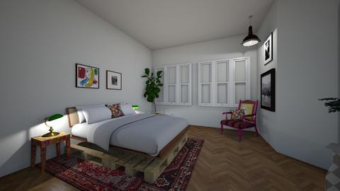 2 - Bedroom  - by Streepje