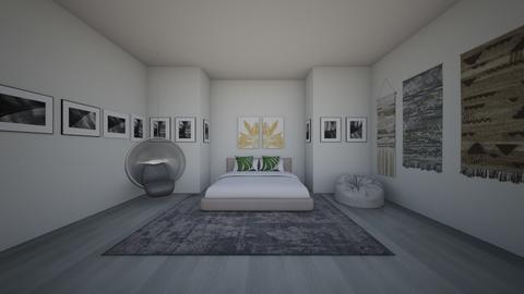 Boho Bedroom - Modern - Bedroom  - by PumpkinPie12