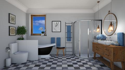 Morning Bath - Bathroom  - by Joao M Palla