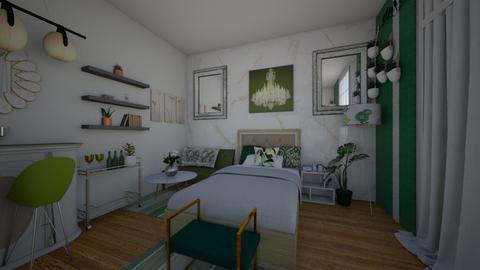 Shaira Room - Modern - Bedroom  - by shailadimaapi