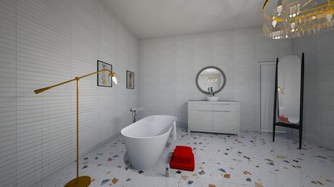 flower - Bathroom  - by hicran yeniay