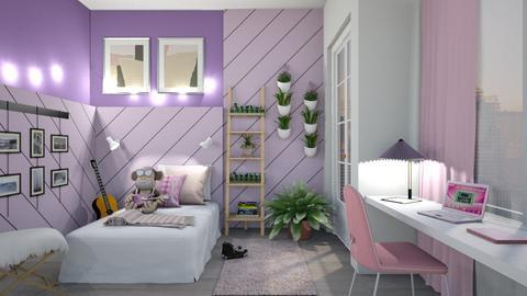 purple e pink - by neide oliveira