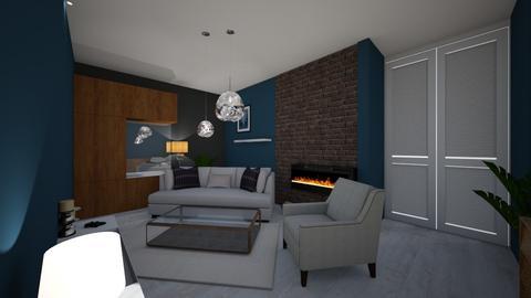 Asiaf - Living room - by Asia Liberkowska
