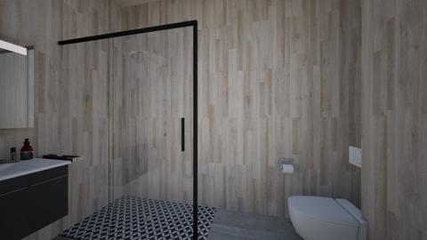 Bathroom 1 - Modern - Bathroom  - by ragnar2010