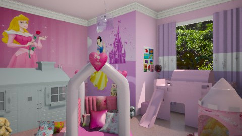 Princess - Kids room  - by starinthesky1987