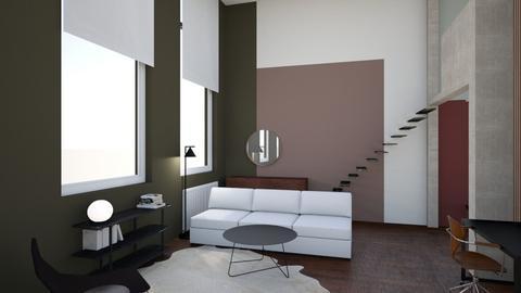 apart3 - Living room - by KanitaM