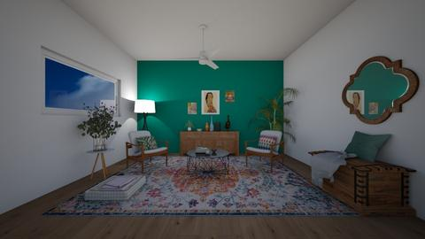 Indian living room - Modern - Living room  - by ana pogorelec
