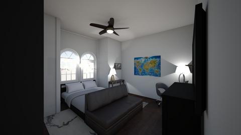 modern room - Modern - Bedroom  - by s777890