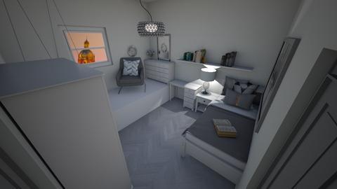 Small Bedroom 4 - Bedroom  - by Khayla Simpson