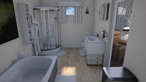 Butler Bathroom - Modern - Bathroom  - by alonatech_2nd